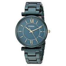 Fossil ES4427 CARLIE Ladies Jade Green Stainless Steel Watch