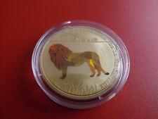 * Togo 100 Francs 2011 PP/ Prism *WWF* Löwe /ca,39mm (Schub109)