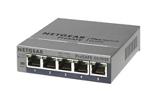 (NEW in BOX) NETGEAR ProSAFE GS105Ev2 5-Port Gigabit Web Managed (Plus) Switch