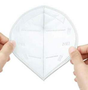 Face Mask KN95 100 Pack Disposable Protective 5-LAYERS CE/ECM Certified Safety