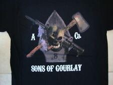 Gourlay Brothers Scotland Soft Black T Shirt M