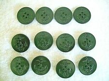 WWII US NAVY ORIGINAL  PEACOAT BUTTONS 1DZ