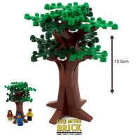 LEGO Large Tree - Bushy Summer Tree - Flowers & green leaves - 12cm tall - NEW
