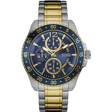GUESS Men's Jet 48MM Two Tone Stainless Steel Multifunction Watch W0797G1