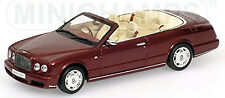 Bentley Azure 2006-09 rouge rouge métallisé 1:43 Minichamps
