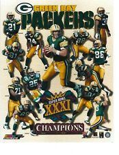 "1996 Green Bay Packers Super Bowl XXXI 8"" X 10"" Collage Photo"