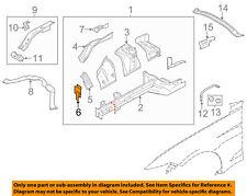 FORD OEM 15-18 Mustang Fender-Front Bracket Left FR3Z16153A
