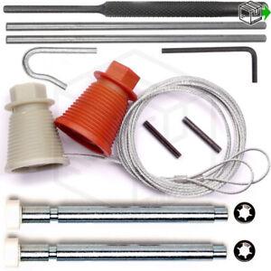 Cardale, Wessex, CD45 Garage Door Spares Cones Cables Roller Spindles Repair Kit