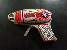 Vintage Japan Atomic Space Ray Gun Friction Sparking - Nearly new condition