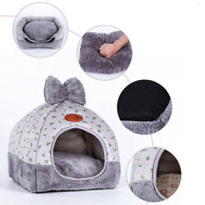 Cat Cave Bed Pet Dog kitten for Indoor Cozy House Cat Bed Warm Nest Kennel Cave…