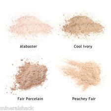 Mineralshack 4 Fair Skin face powder sample kit bag full cover foundation makeup
