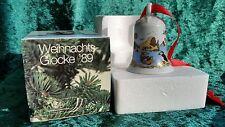Hutschenreuther Weihnachtsglocke 1989 mit OVP 7,5cm Top !!!