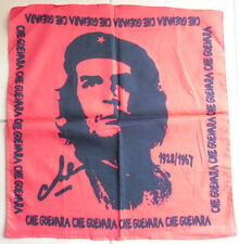 BANDANA / FOULARD :  CHE GUEVARA 100% COTON ROUGE ET NOIR