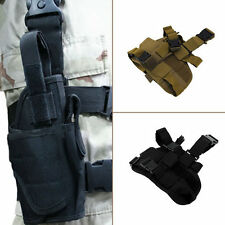 Practical Airsoft Military Tactical Drop Leg Thigh Holster Pouch Ga