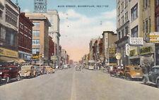 EVANSVILLE , Indiana, 1951 ; Main Street