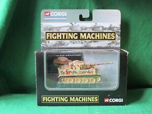 CORGI SHOWCASE FIGHTING MACHINES GERMAN TIGER TANK D DAY  #CS90134