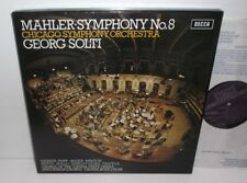 SET 534-5 Mahler Symphony No.8 Chicago Symphony Orchestra Sir Georg Solti 2LP