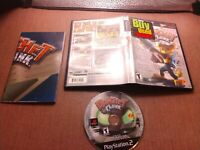 Sony PlayStation 2 PS2 CIB Complete Tested Ratchet & Clank Ships Fast