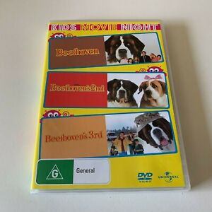 BEETHOVEN, BEETHOVEN'S 2ND & BEETHOVEN'S 3RD - DVD REG 4 - VERY GOOD COND