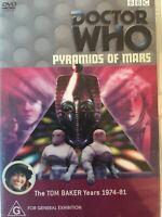 DOCTOR WHO - Pyramids Of Mars DVD BBC AS NEW! Tom Baker