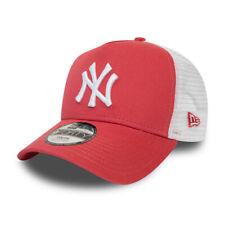 New Era Kinder Trucker Cap - New York Yankees coral rot
