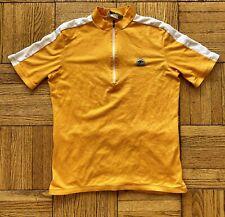 SUGOi Yellow Cycling Jersey Biking Shirt XL