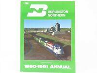 BN Burlington Northern 1980-1991 Annual by Robert C. Del Grosso ©1991 SC Book