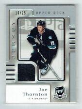 06-07 UD The Cup  Joe Thornton  /25  Jersey