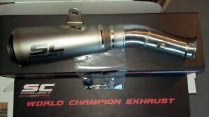 Exhaust SC GP 18-21 KTM 790 890 Duke Motorcycle Titanium Slip-On