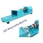 100W Mini DIY Wood Lathe Machine Woodworking Turning Tool For Home