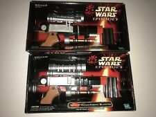New 1998 Star Wars EPISODE 2 Naboo firing Blasters W viewing Scope HTF / Rare