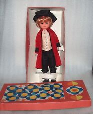 Rare Vintage Plaho-Steinach Doll-Hallore,Original Costume+Box, Made In Gdr,1970s