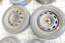 2x VW Golf 4 Bora 195/65 R15 91T Winterreifen Reifen 6jx15H2 ET38  ca. 5-5,5 mm