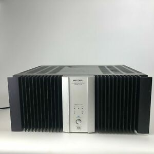 Rotel RMB-1075 Five Channel Silver & Black Power Amplifier with Power Cable