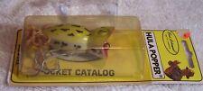 Vintage Arbogast Hula Popper Lure 10/19/18Pots In Package