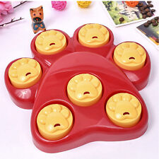 DOG CAT PET TOY PAW PUZZLE HIDE TREATS GAME INTERACTIVE FOOD GAME INDOOR OUTDOOR