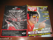 AUTOSPRINT 2012/10=ALONSO=FERRARI F12=TEST VW POLO WRC=RALLY MESSICO=