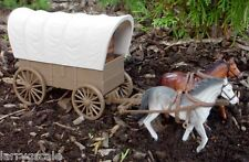 Covered Wagon Miniature 1/24 Scale G Scale 1/32 Scale Diorama Accessory Item