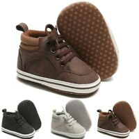 Toddler Kid Baby Girls Boys Cute Toddler First Walk Winter Boots Casual Shoes AU