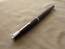 VINTAGE PARKER 45 BLACK FP /ENGLAND/ ORIGINAL M SIZE NIB 585 14C EXCELLENT 60'S