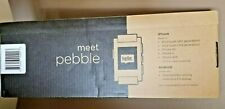 NEW Pebble Classic 33mm Plastic Case Arctic White Classic Buckle - (301WH)