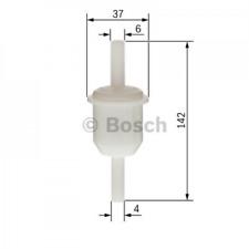 Kraftstofffilter für Kraftstoffförderanlage BOSCH 0 450 904 149