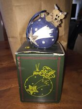 Boyds Bears & Friends: Wilson With Shooting Star - 25702 Bearstone Ornament (DC)