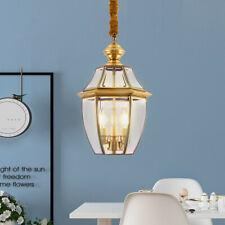 Glass Pendant Light Kitchen Lamp Large Chandelier Lighting Bar LED Ceiling Light