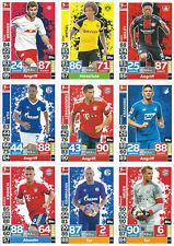 Match Attax 2018/19 1.+2. Bundesliga 20 Basiskarten aus 267 aussuchen 18/19 NEU