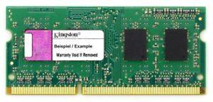 1GB Kingston DDR3-1066 Laptop RAM PC3-8500S CL7 204-pin so-Dimm KVR1066D3S7/1G
