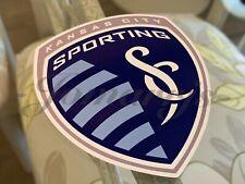 Sporting Kansas City Soccer Team Logo MLS Sticker Decal Vinyl KC
