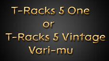 IK MULTIMEDIA T-RACKS 5 ONE or T-RACKS 5 VINTAGE VARI-MU COMP-LIM-PROCESSOR VST