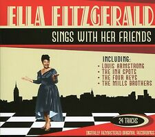 ELLA FITZGERALD SINGS WITH HER FRIENDS CD, LOUIS ARMSTRONG, THE INK SPOTS & MORE