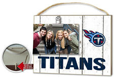 Tennessee Titans Clip It Weathered Logo Photo Frame [NEW] NFL Picture Plaque